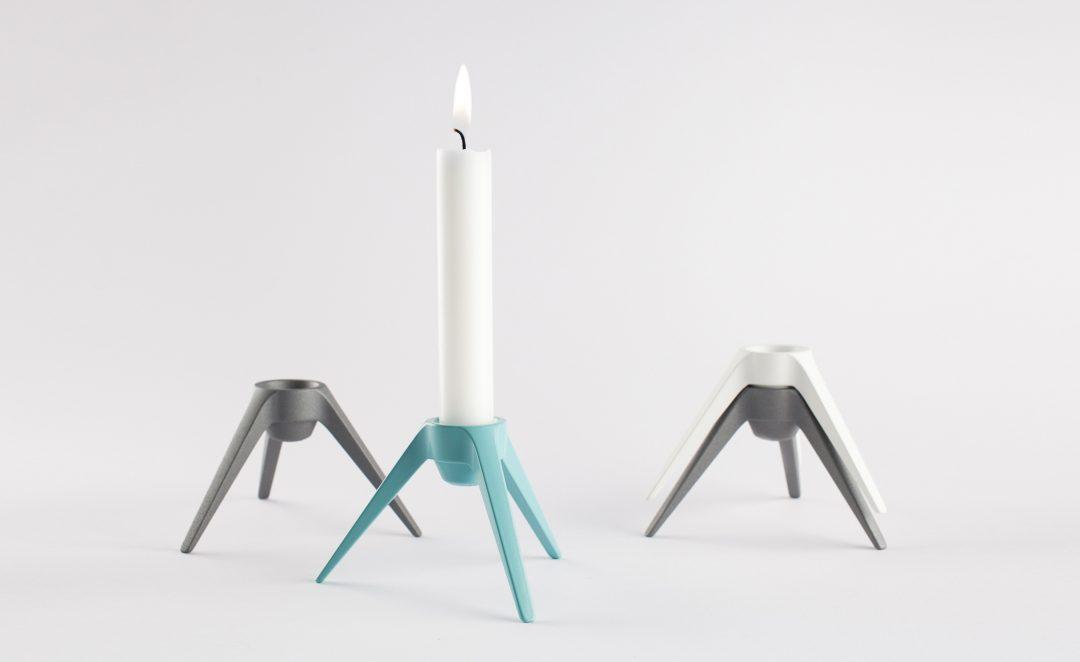 Design Kerzenständer Satellite