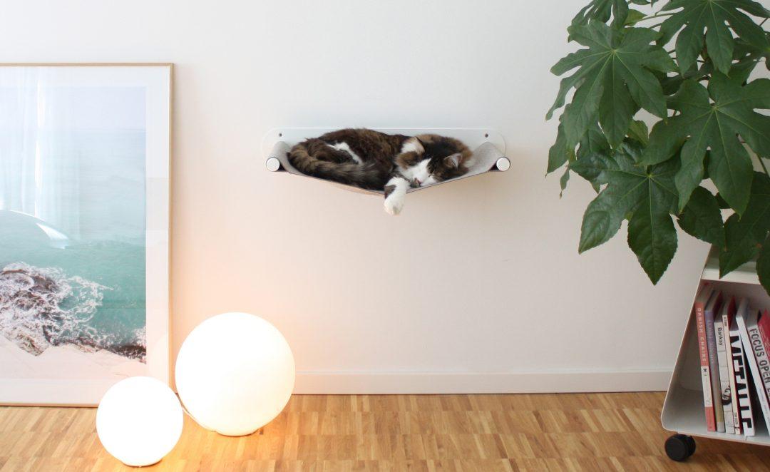 Katzenhängematte Swing von pet-boards_Design Sebastian Frank